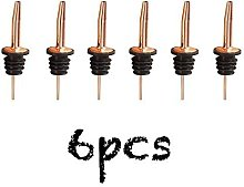 Wine Stoppers & Pourers 6PCS Stainless Steel Wine