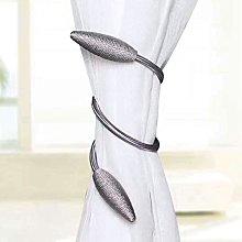 Wingbind Curtain Tiebacks,Cute Oval Shape Metal