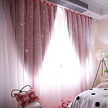Wingbind Sheer and Blackout Curtains Set,Romantic