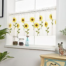 Wingbind Yellow Daisy Sunflower Patterned Short