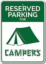 Wini2342ckey Campers Parking Sign, Camper Gift,
