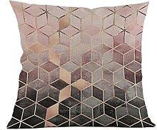 Winkey Pillow Case, 45X45cm Geometric Pillow Case