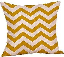 Winkey Pillowcase, 45X45cm Mustard Pillow Case