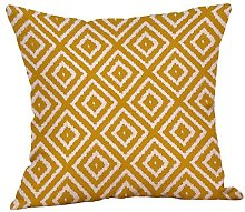 Winkey Pillowcase, 45X45cm Mustard Pillow Case