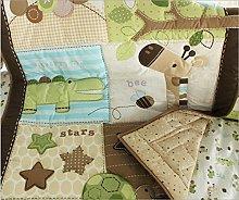 WINLIFE Crib Bedding Set For Girls & Boys Crib