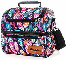 Winmax 12L Two Compartment Lunch Bag Large