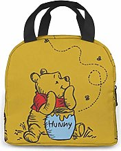 Winnie The Pooh Lunch Bag Cooler Tote Bag for