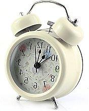 WINOMO 3-Inch Twin Bell Analog Alarm Clock Battery