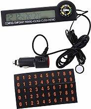 WINOMO Car Auto Thermometer Temperature Voltmeter