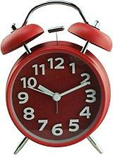 WINOMO Desk Shelf Clocks 4-Inch Double Bell Alarm