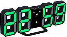 WINOMO LED Digital Alarm Clock Modern Home Wall