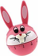 WINOMO Rabbit Timer 60- Minute Wind Up Dial 360°