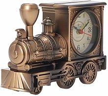 WINOMO Steampunk Alarm Clock Locomotive Table