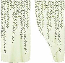 Winomo Transparent Voile Curtains Curtain