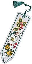 WINTER BOOKMARK CROSS STITCH KIT BY TEXTILE