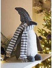Winter Penguin Christmas Decoration