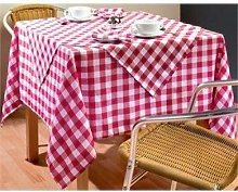 Winware Palmar Gingham Tablecloth