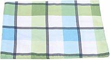 Winwinfly Green Plaid Table Cloth Waterproof
