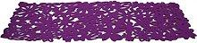 Winwinfly Rectangular Felt Placemat Table Runner