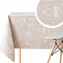 Wipe Clean Pattern Tablecloth With Chalkboard