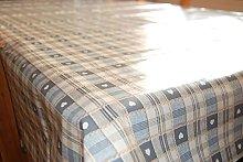 Wipe Clean PVC, Tablecloth, Oilcloth, Vinyl - Grey