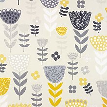 Wipe Clean PVC Vinyl and Oilcloth Table Cloth Grey