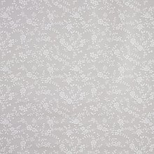 Wipe Clean Tablecloth PVC Vinyl Taupe Floral