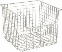 Wire Basket InterDesign Size: 25.4cm H x 25.4cm W