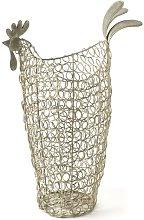 Wire Chicken Mesh Basket Brambly Cottage
