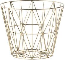 Wire Large Basket - / Ø 60 x H 45 cm by Ferm