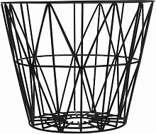 Wire Large Basket - Ø 60 x H 45 cm by Ferm Living
