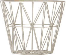 Wire Large Basket by Ferm Living Grey