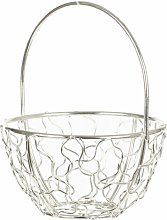Wire Mesh Decorative Basket Symple Stuff Colour: