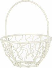 Wire Mesh Decorative Basket Symple Stuff
