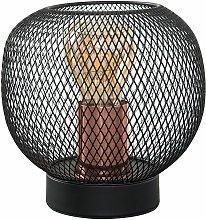 Wire Mesh Table Lamp - Black & Copper - Minisun