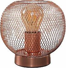 Wire Mesh Table Lamp - Copper - Minisun