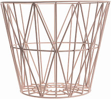 Wire Small Basket - Ø 40 x H 35 cm by Ferm Living