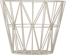 Wire Small Basket by Ferm Living Grey