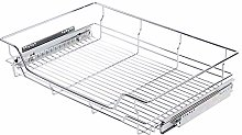 Wire Storage Basket Drawer, Pull Out Cabinet