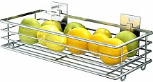 Wire Storage Basket - Stackable Hanging Wall Shelf