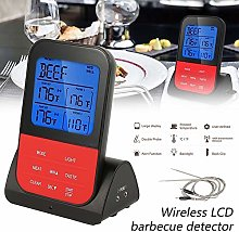 Wireless Barbecue Thermometer Kitchen Cooking Meat