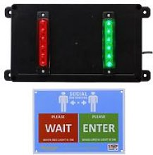 Wireless Door Entry Traffic Lighting Control