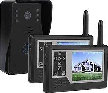 Wireless Doorbell, 3.5in Video Doorbell Intercom
