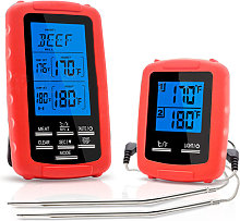 Wireless Grill Thermometer EN-2050 Red