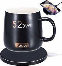 Wireless Heating Mug Warmer & Charger 2 in 1