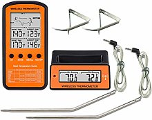 Wireless Meat Thermometer, Dual Probe Digital