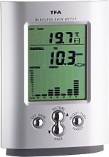Wireless Rain Gauge and Thermometer Symple Stuff
