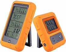 Wireless Remote Digital Meat Thermometer, Oven BBQ