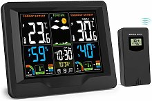 Wireless Weather Station with Outdoor Sensor,