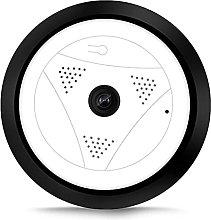 Wireless WiFi IP Camera, HD 1080P 360° Fisheye